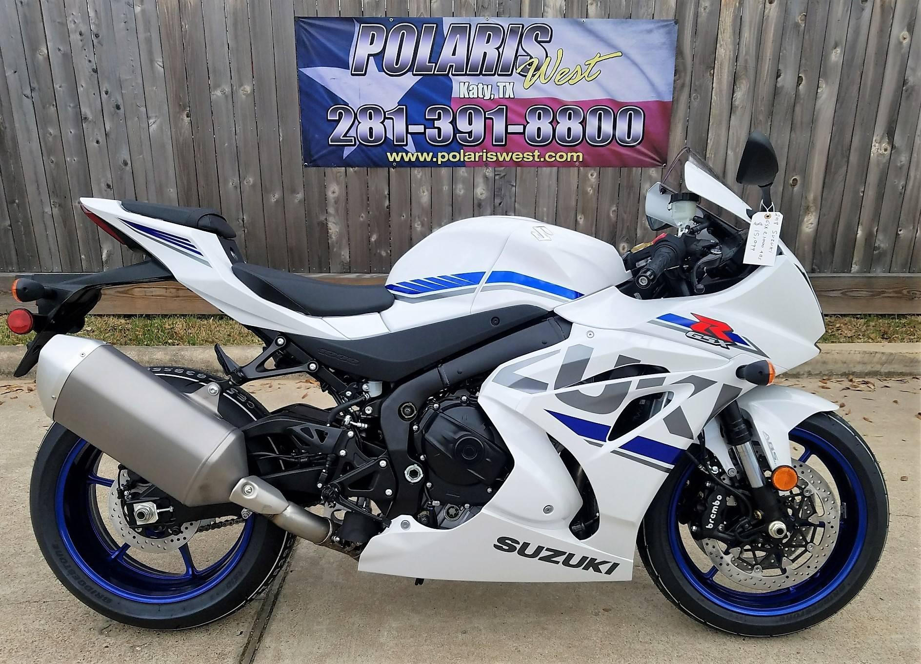 New 2018 Suzuki Gsx R1000 Abs Motorcycles In Katy Tx Stock Number