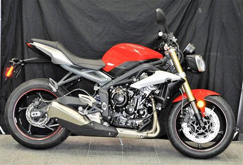 2016 Triumph Street Triple ABS in Katy, Texas