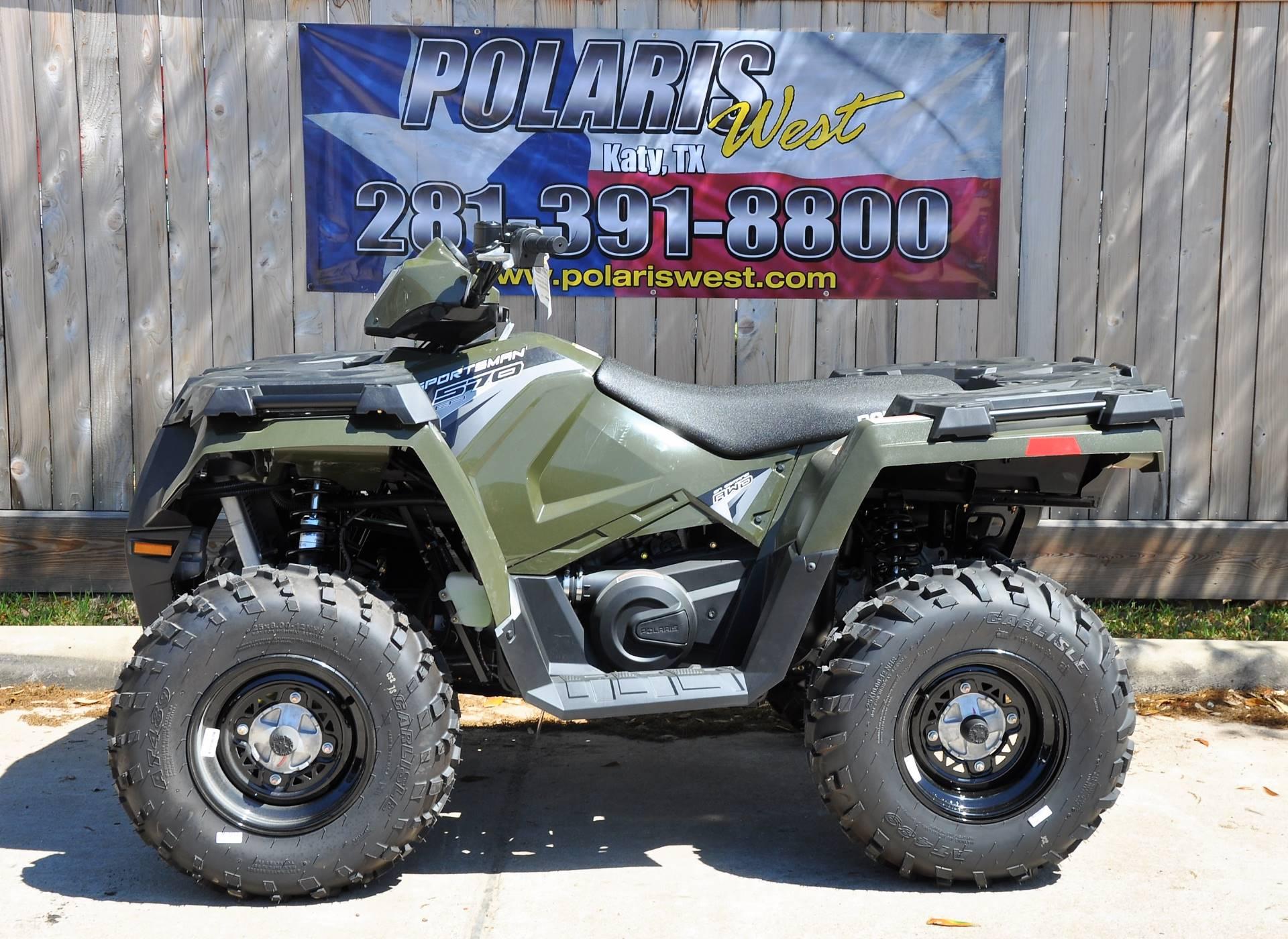 New 2018 Polaris Sportsman 570 ATVs in Katy, TX   Stock Number ...