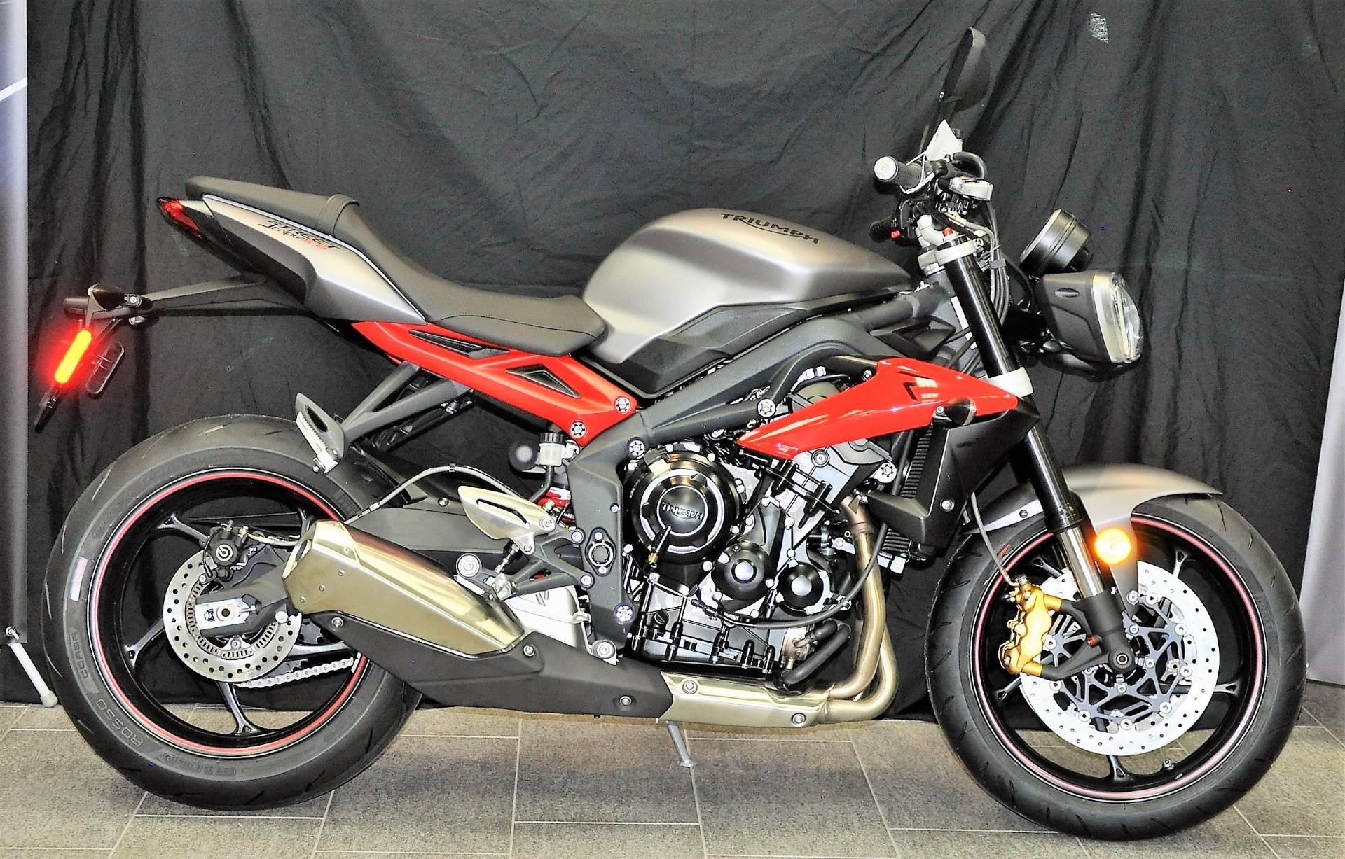 new 2017 triumph street triple r motorcycles in katy, tx | stock