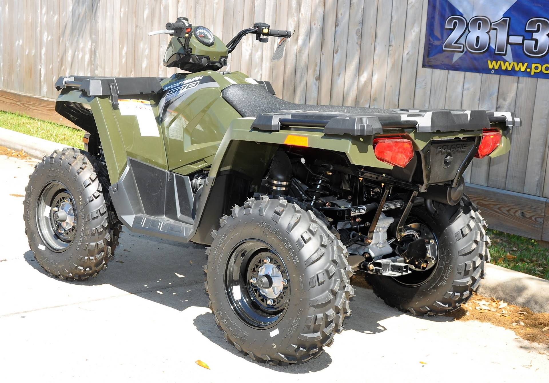 2017 Polaris Sportsman 570 EPS in Katy, Texas