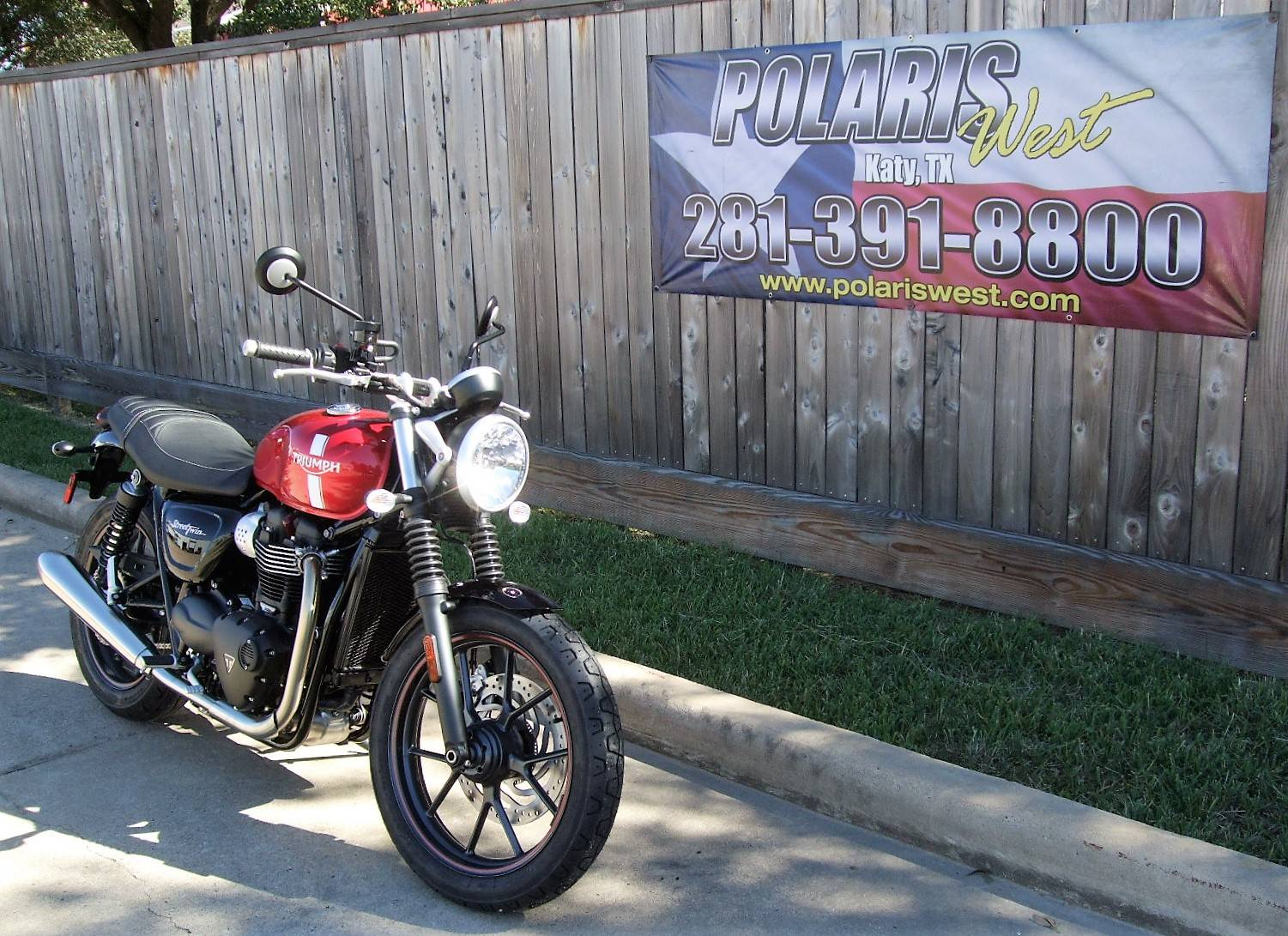 2017 Triumph Street Twin in Katy, Texas