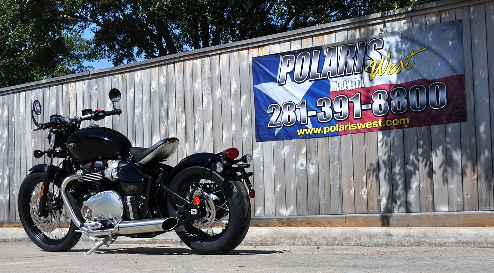 2018 Triumph Bonneville Bobber in Katy, Texas
