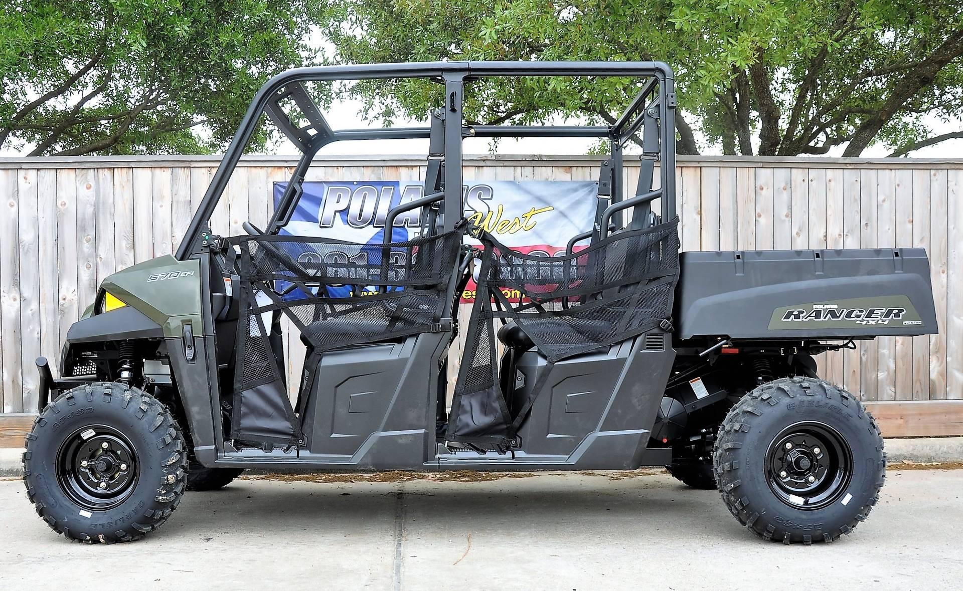 Polaris Ranger 570 >> 2019 Polaris Ranger Crew 570 4 In Katy Texas