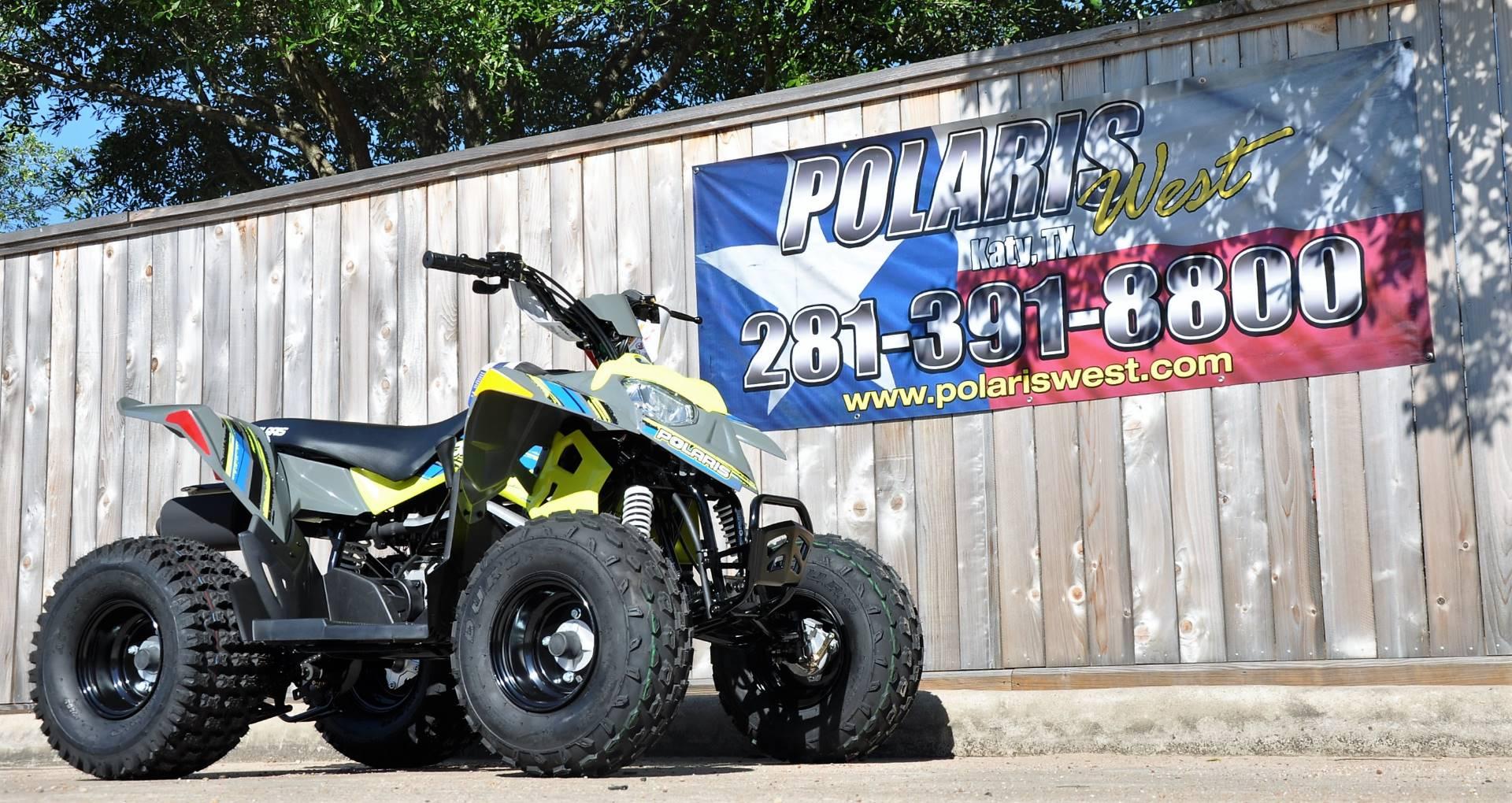 2018 Polaris Outlaw 110 2