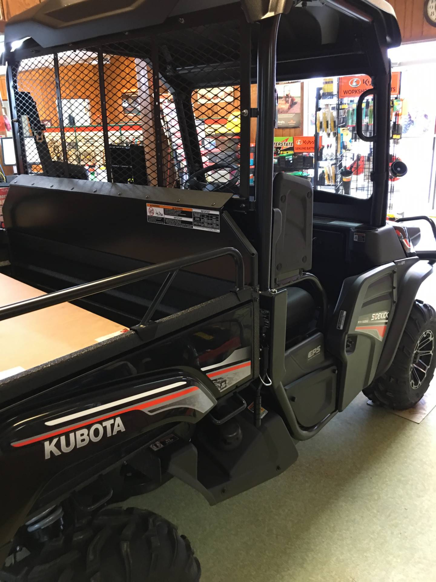 2018 Kubota RTV-XG850SL-AS in Bolivar, Tennessee