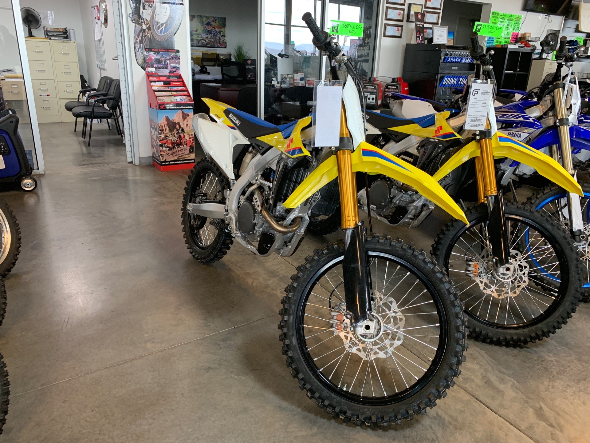 2019 Suzuki RM-Z250 in Saint George, Utah - Photo 1