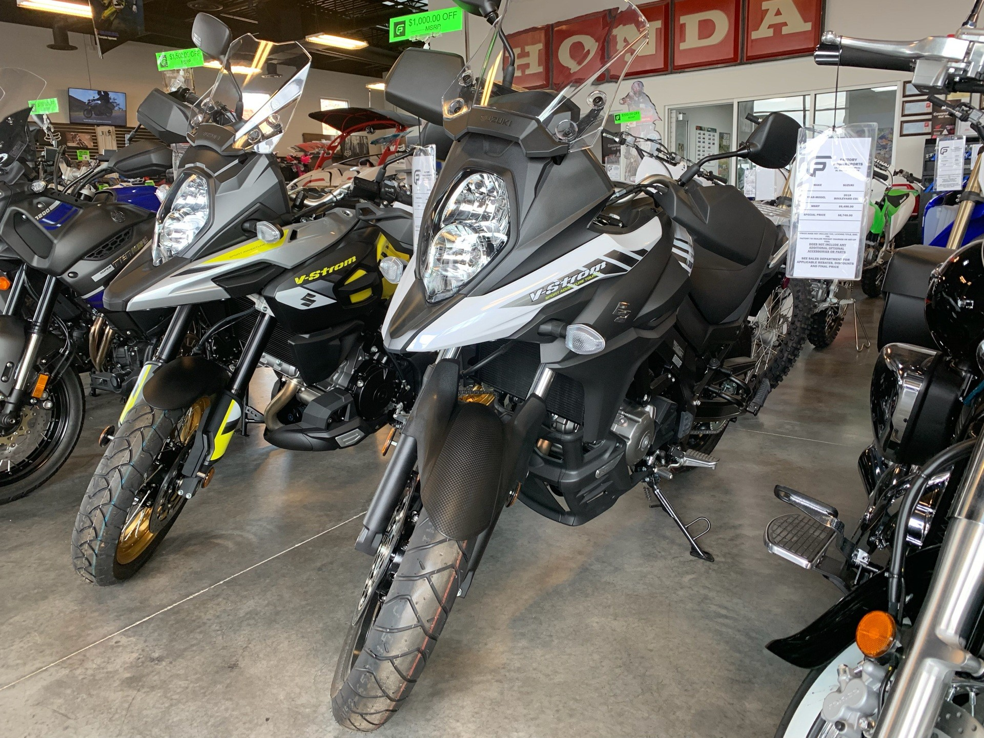 2018 Suzuki V-Strom 650XT in Saint George, Utah - Photo 2