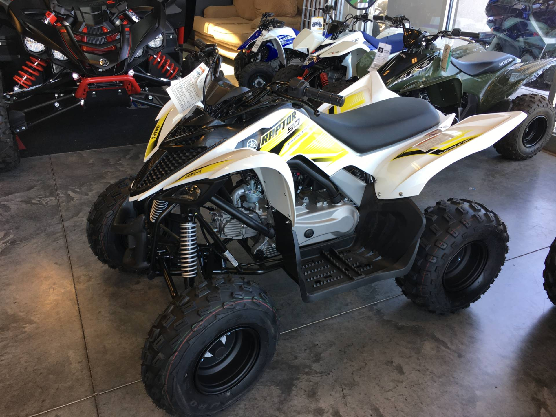 2017 Yamaha Raptor 90 for sale 13345