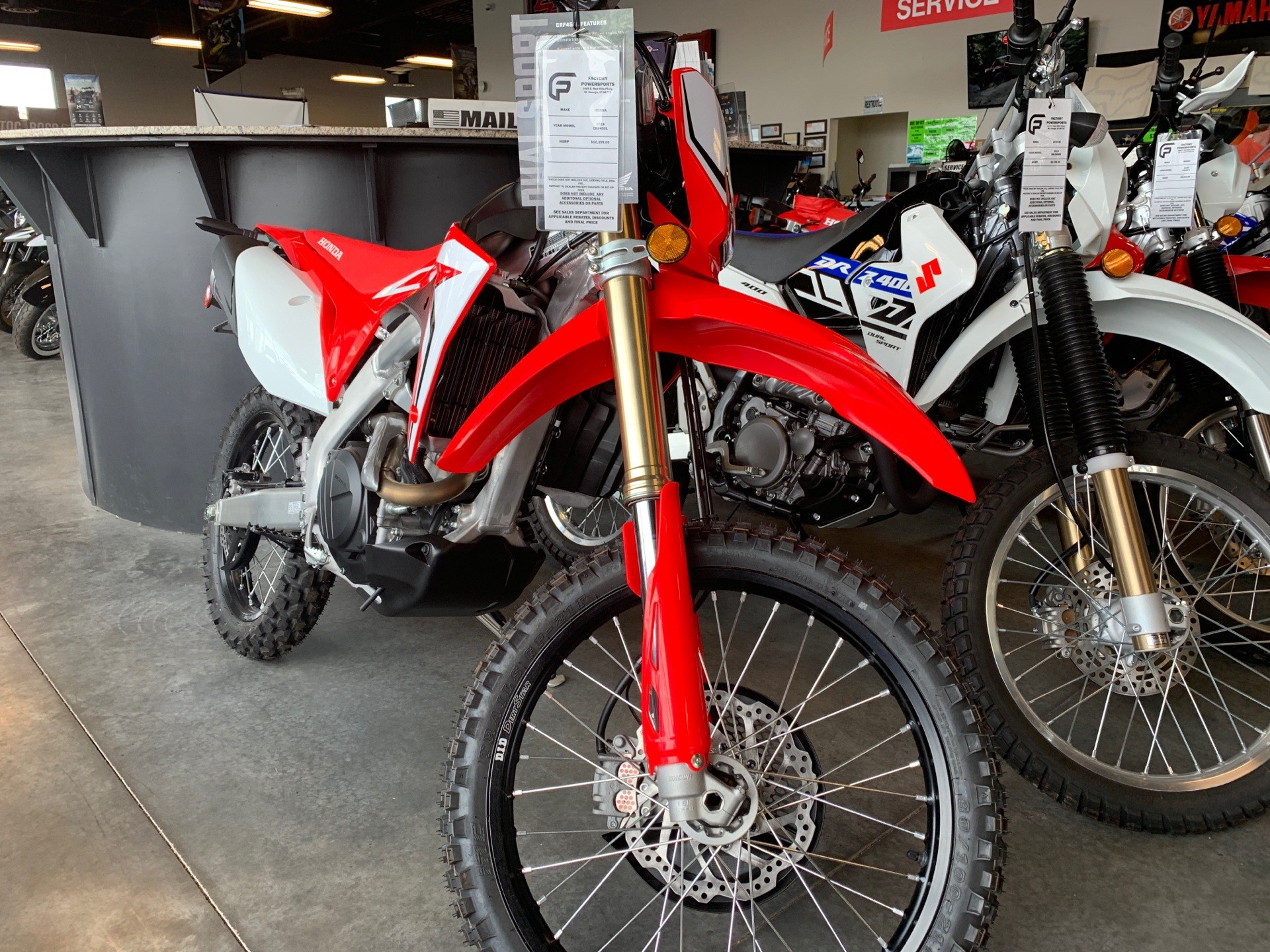 2019 Honda CRF450L for sale 2320