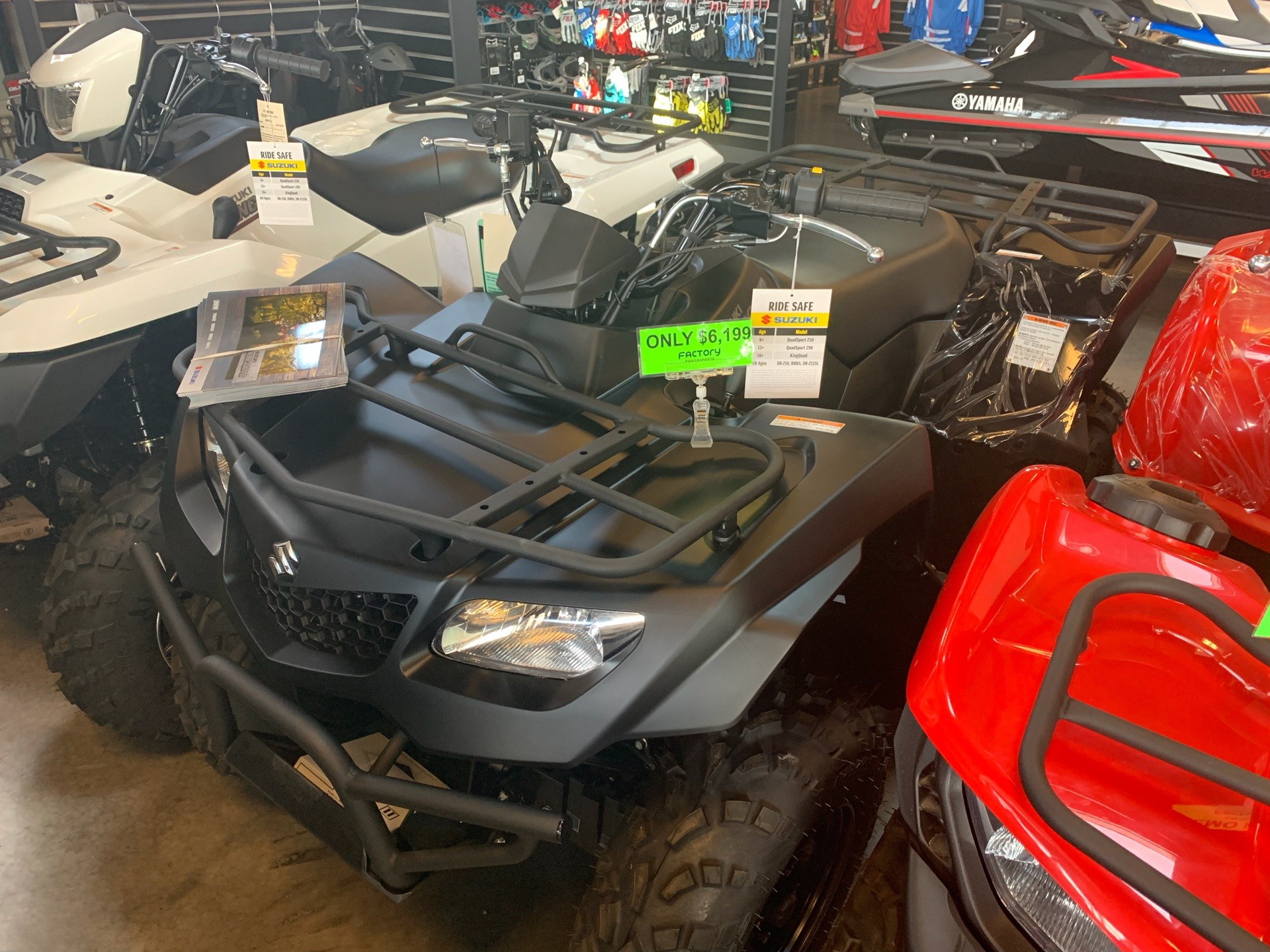 2019 Suzuki KingQuad 400ASi+ in Saint George, Utah