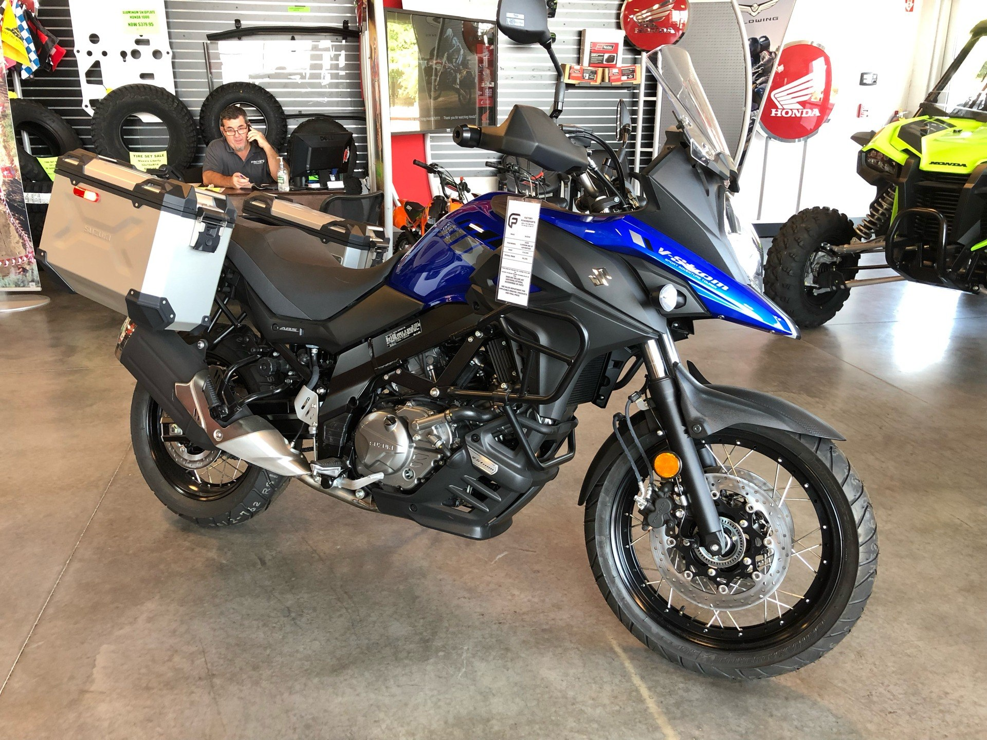 2020 Suzuki V-Strom 650XT Adventure in Saint George, Utah - Photo 5