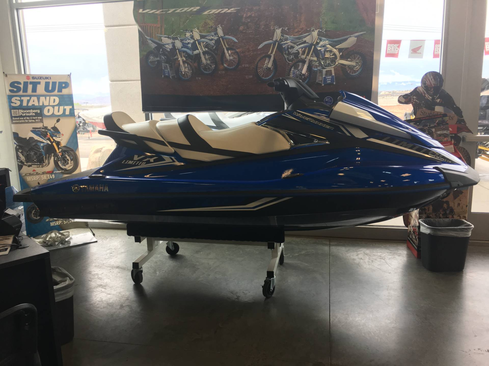 2017 Yamaha VX Limited for sale 9653