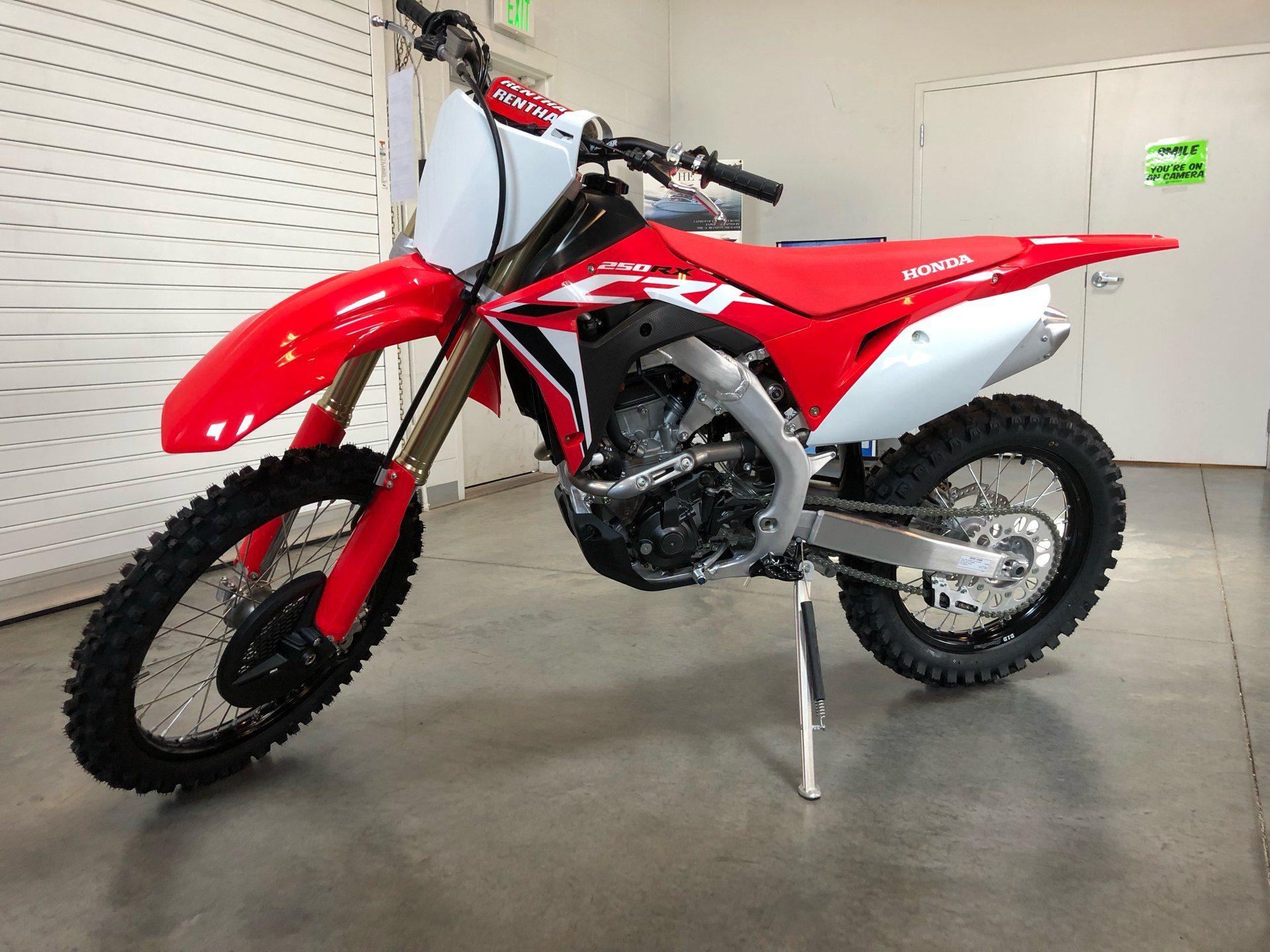new 2021 honda crf250rx motorcycles in saint george ut