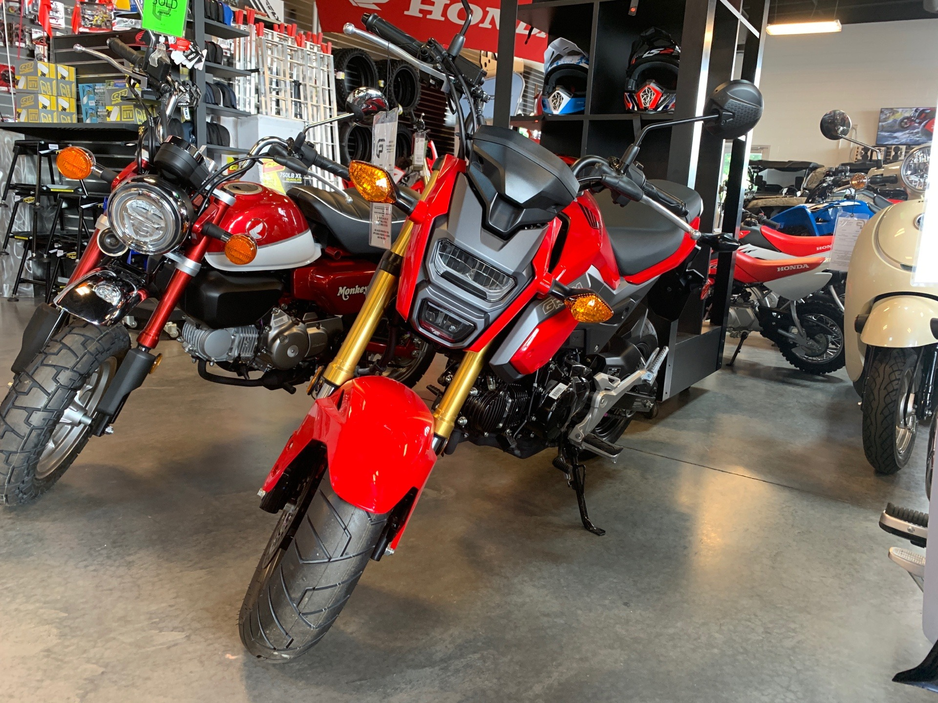 2018 Honda Grom ABS in Saint George, Utah - Photo 1