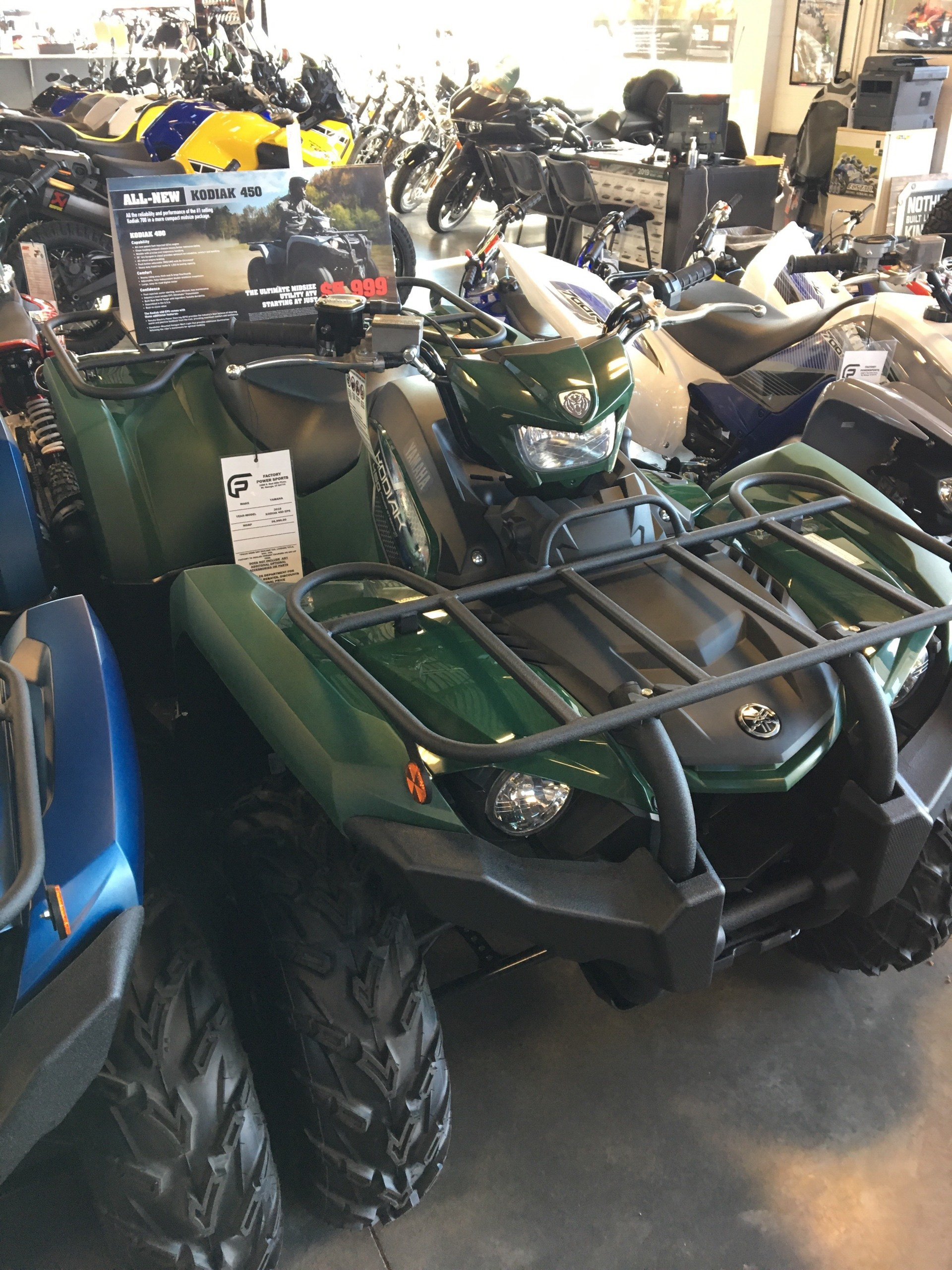 2019 Yamaha Kodiak 450 EPS for sale 5888
