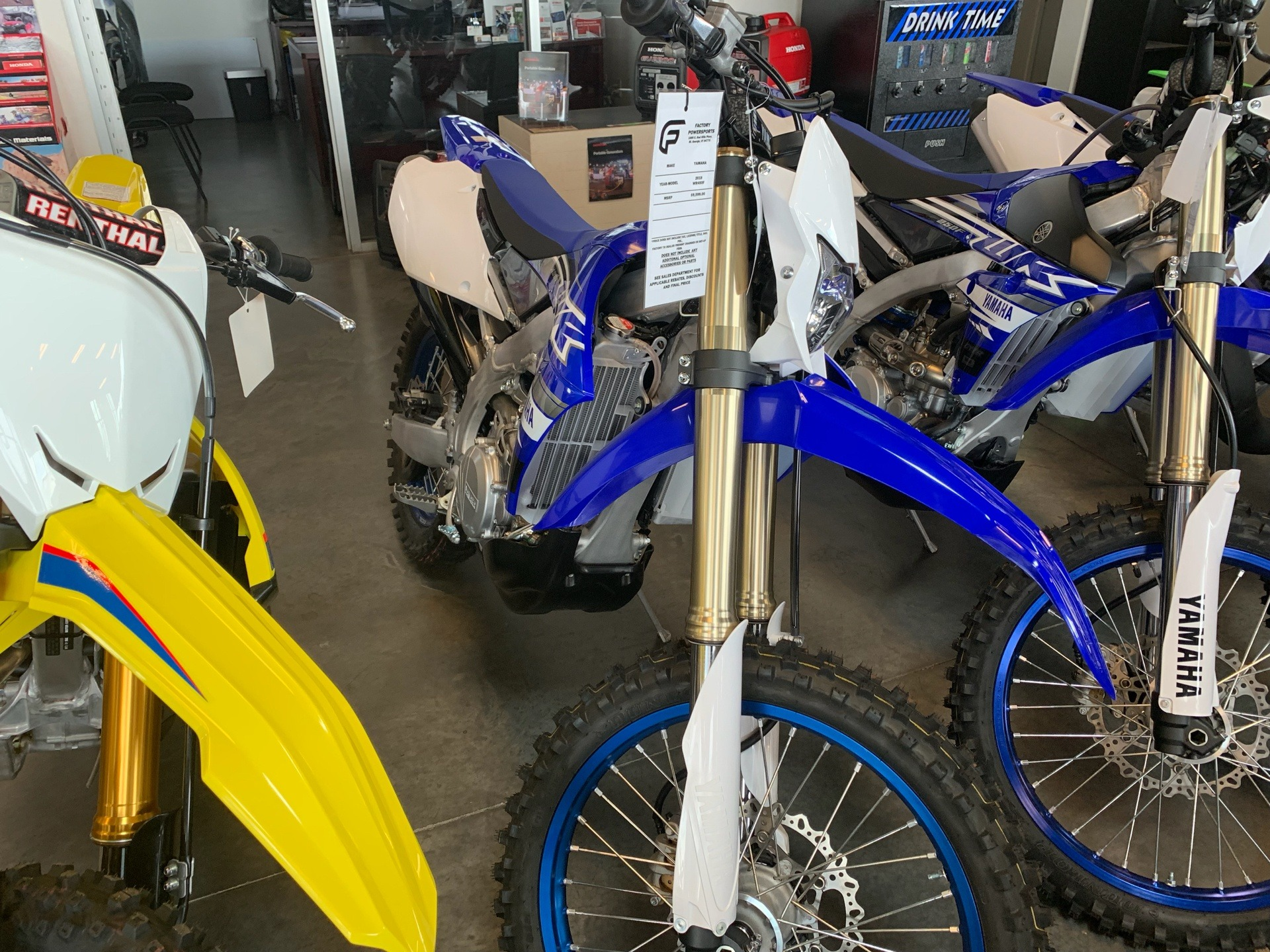 2019 Yamaha WR450F in Saint George, Utah - Photo 1