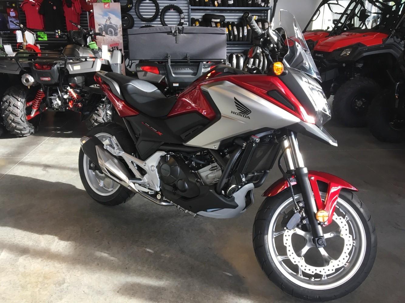 New 2018 Honda Nc750x Motorcycles In Saint George Ut Stock Number