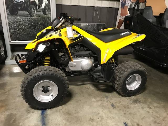2018 Can-Am DS 250 in Charleston, Illinois