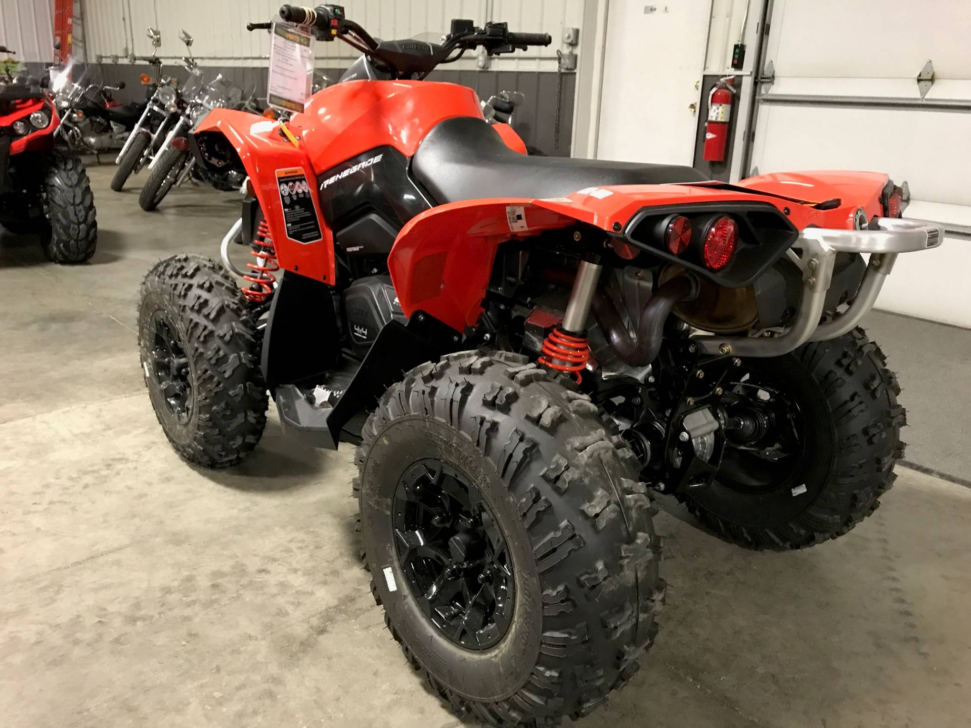 2017 Can-Am Renegade 850 in Charleston, Illinois