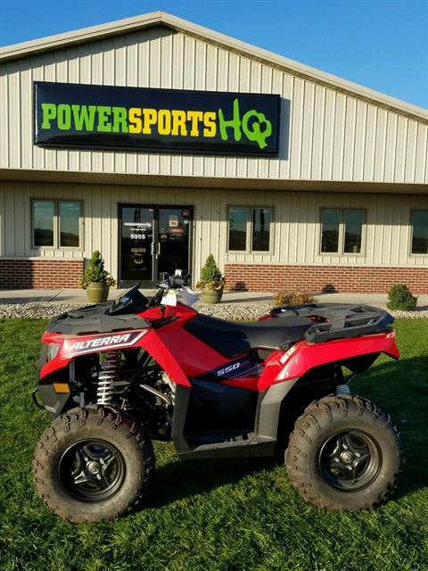 2016 Arctic Cat Alterra 550 in Charleston, Illinois