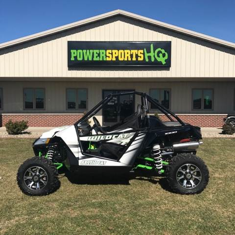 2016 Arctic Cat Wildcat X in Charleston, Illinois
