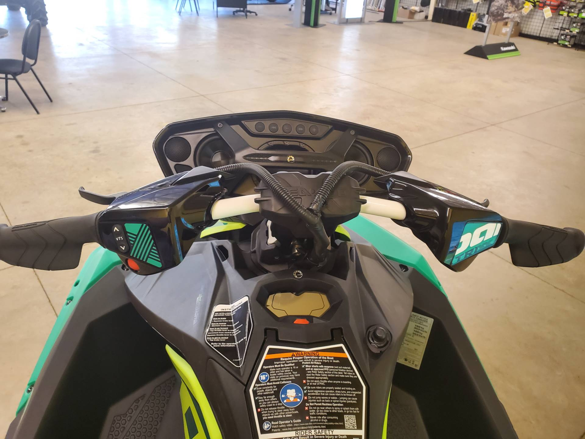 2021 Sea-Doo Spark Trixx 2up iBR + Sound System in Pearl, Mississippi - Photo 3