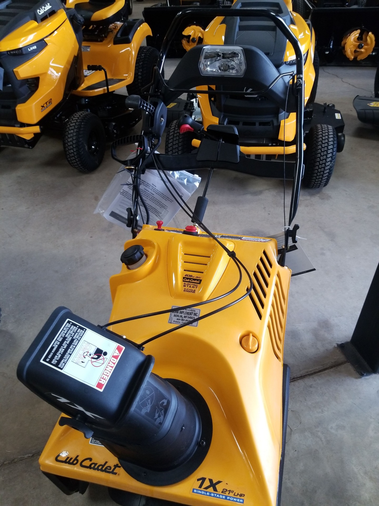 Cub Cadet 1X 21 in. LHP in Berlin, Wisconsin - Photo 1