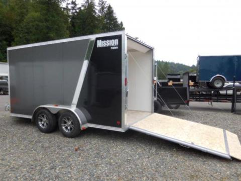 2017 Mission Trailers EZEC DL7X14 in Sandpoint, Idaho