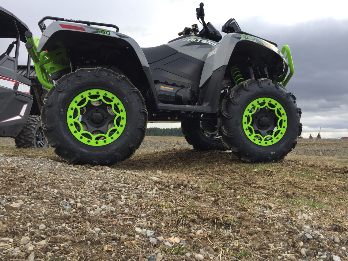 2018 Textron Off Road Alterra MudPro 700 LTD in Sandpoint, Idaho