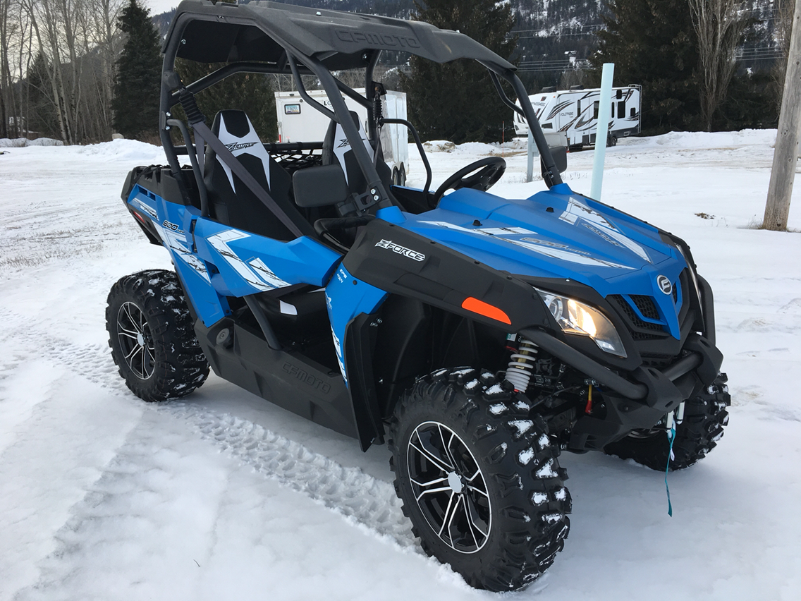 2019 CFMOTO ZForce 800 Trail in Sandpoint, Idaho