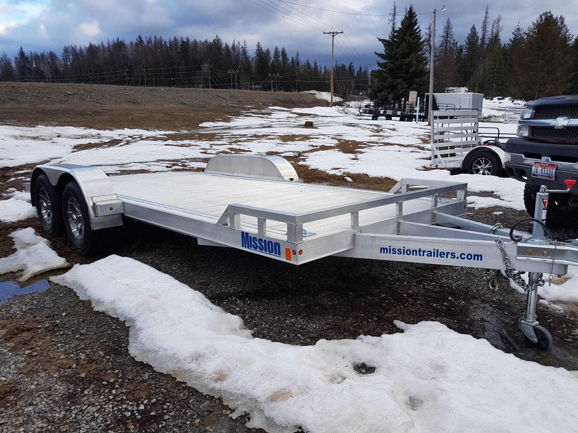 2017 Mission Trailers Aluminum Car Hauler Trailers (MOCH 8 x 18) in Sandpoint, Idaho