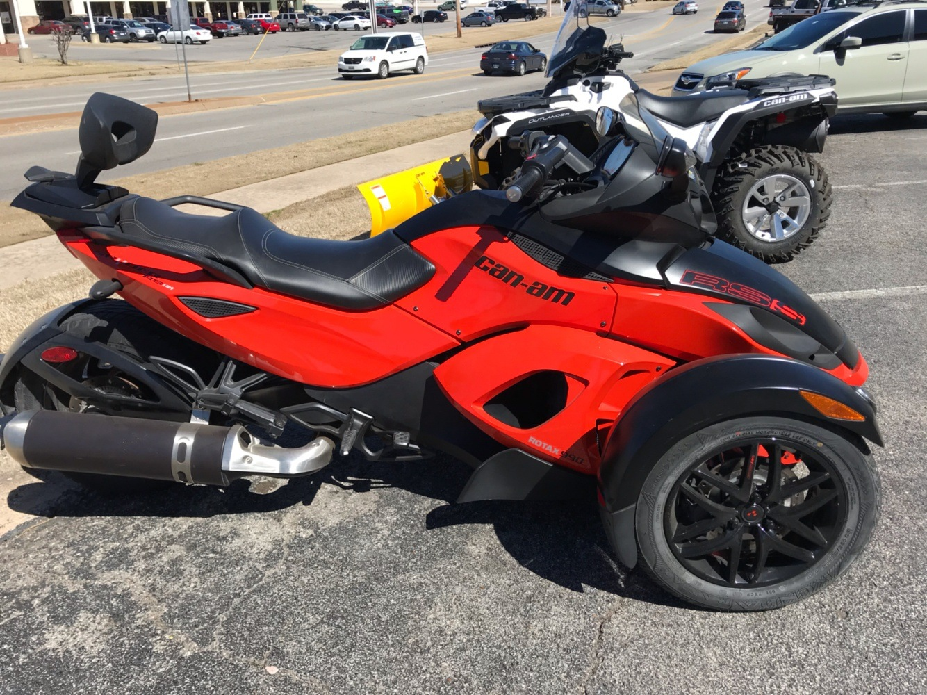 2012 Can-Am Spyder RS-S SE5 for sale 90280
