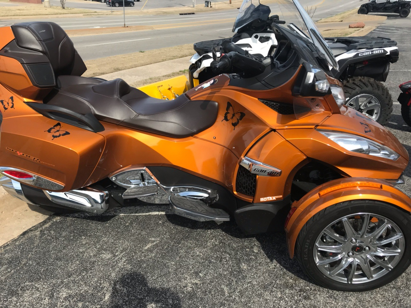 2014 Can-Am Spyder RT Limited for sale 93937