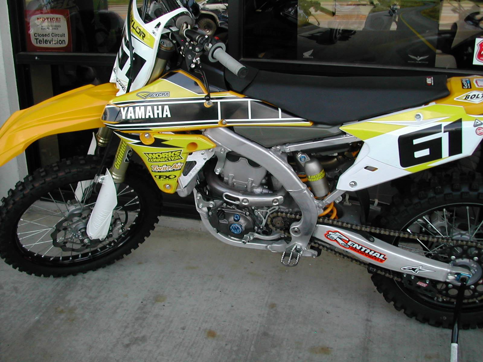 2015 YZ450F