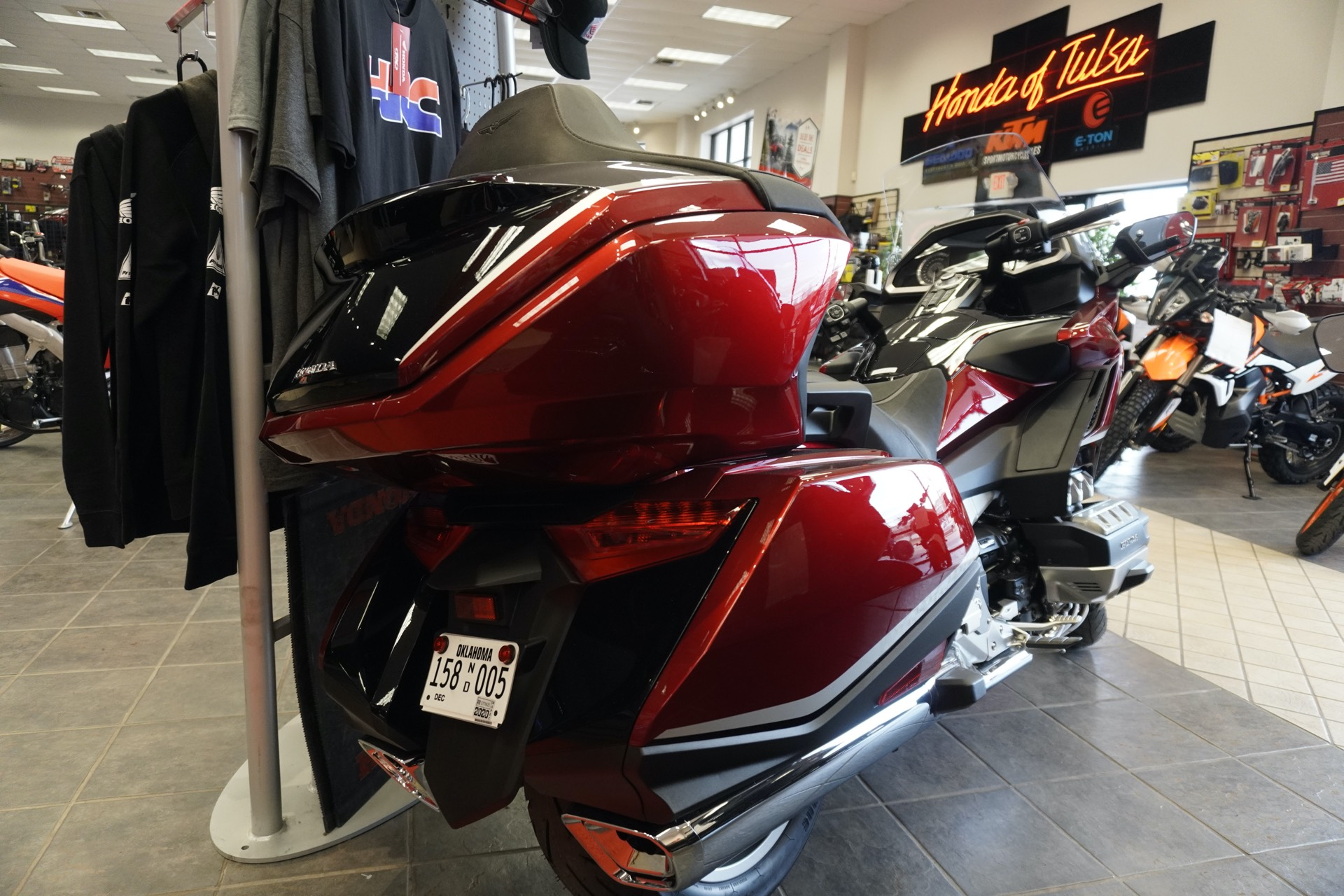 2021 Honda Gold Wing Tour Automatic DCT in Tulsa, Oklahoma - Photo 5