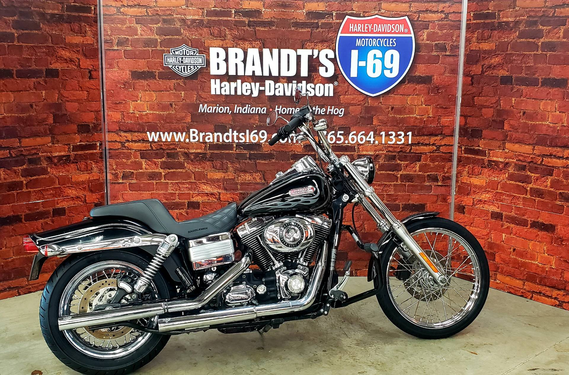 2007 Harley-Davidson FXDWG Wide Glide® Patriot Special Edition in Marion, Indiana