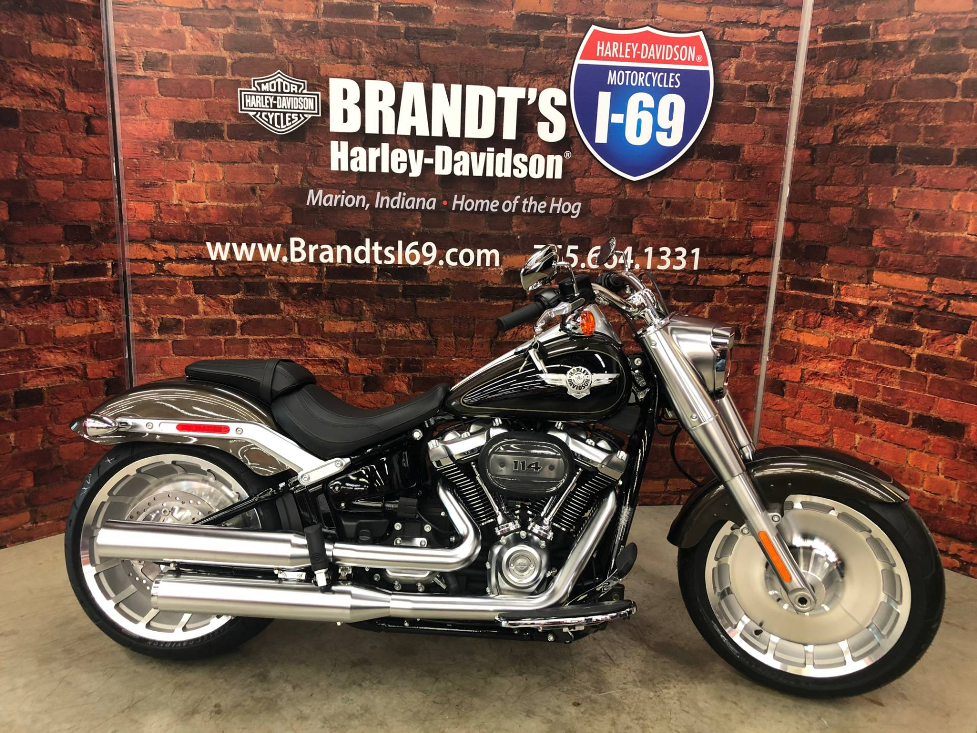 2020 Harley-Davidson Fat Boy® 114 in Marion, Indiana
