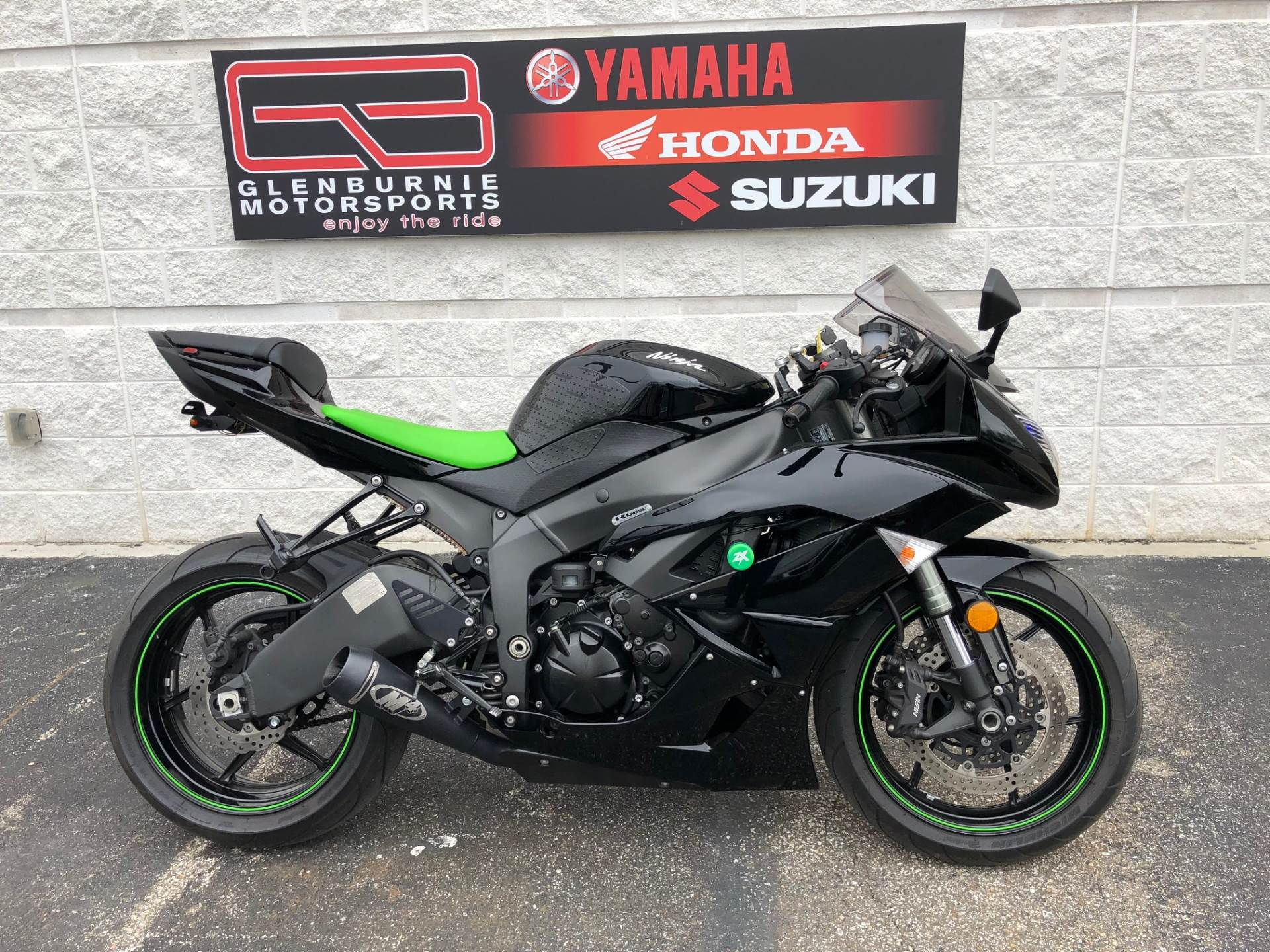 2009 Kawasaki Ninja® ZX™ 6R Monster Energy® In Glen Burnie, Maryland