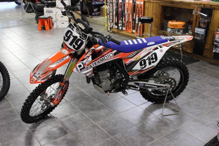 2016 KTM 450 SX-F in Oxford, Maine