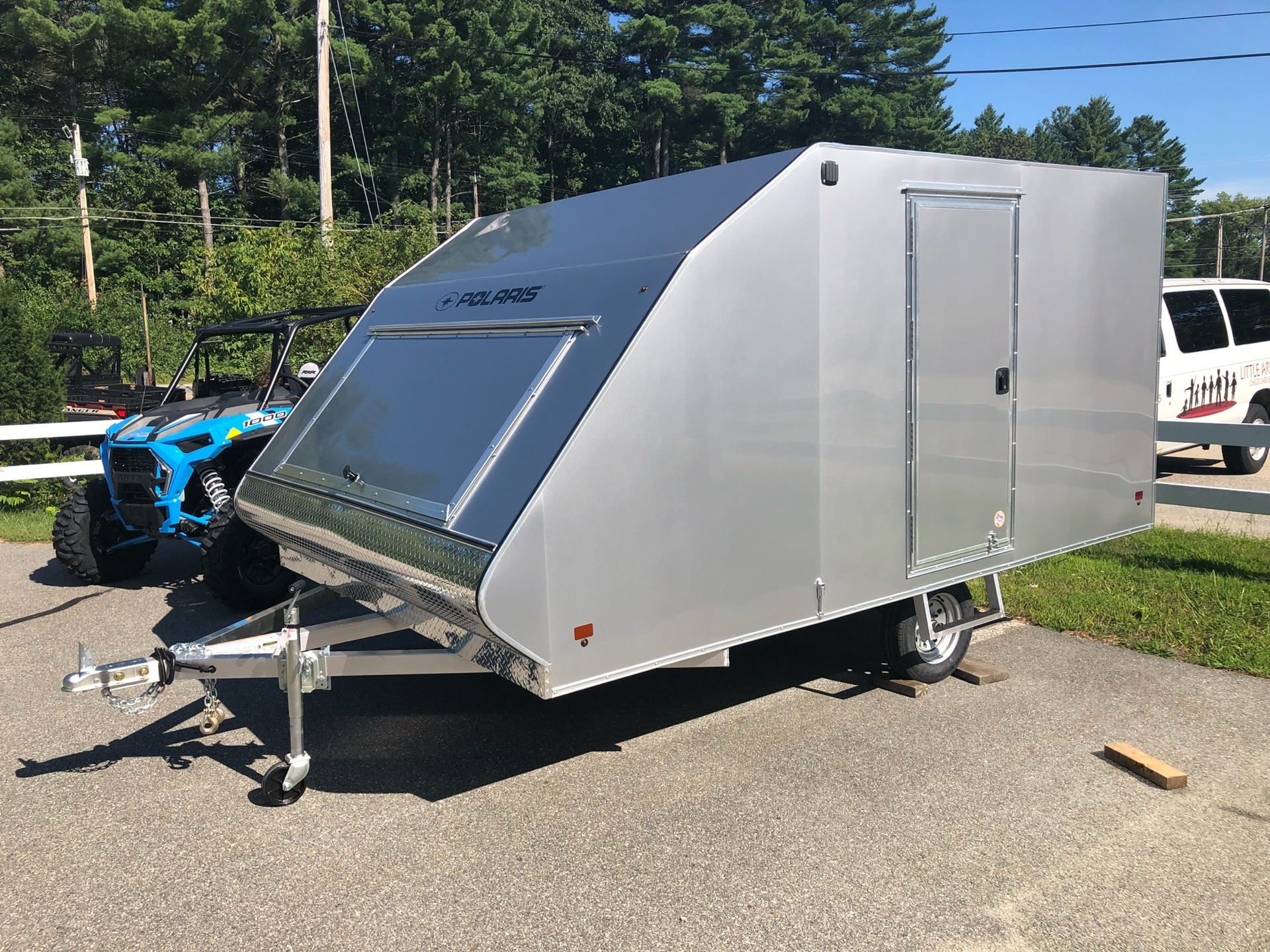 2020 Polaris Trailers PFS 101X12 Crossover in Milford, New Hampshire