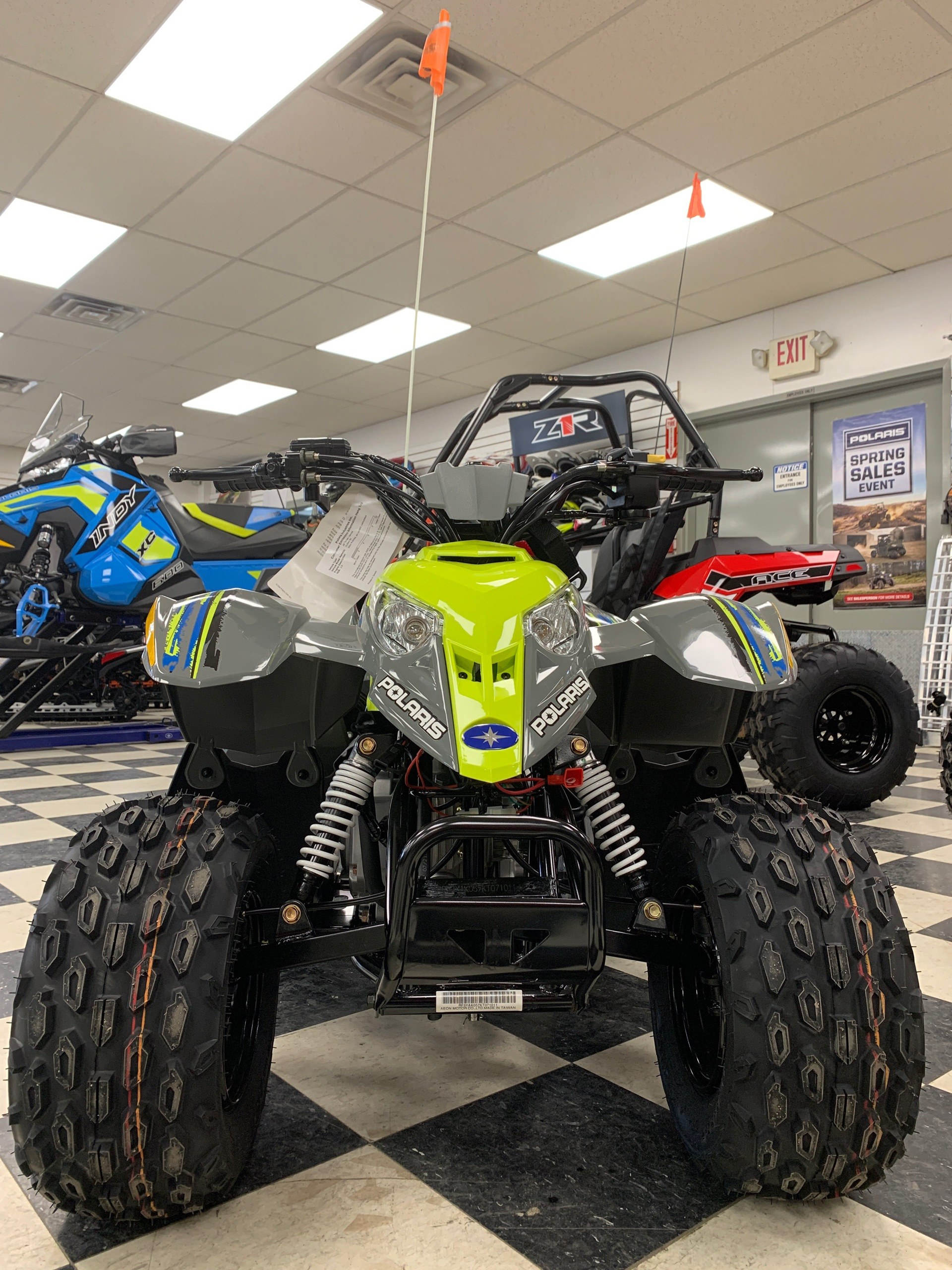 2019 Polaris Outlaw 50 in Milford, New Hampshire - Photo 1