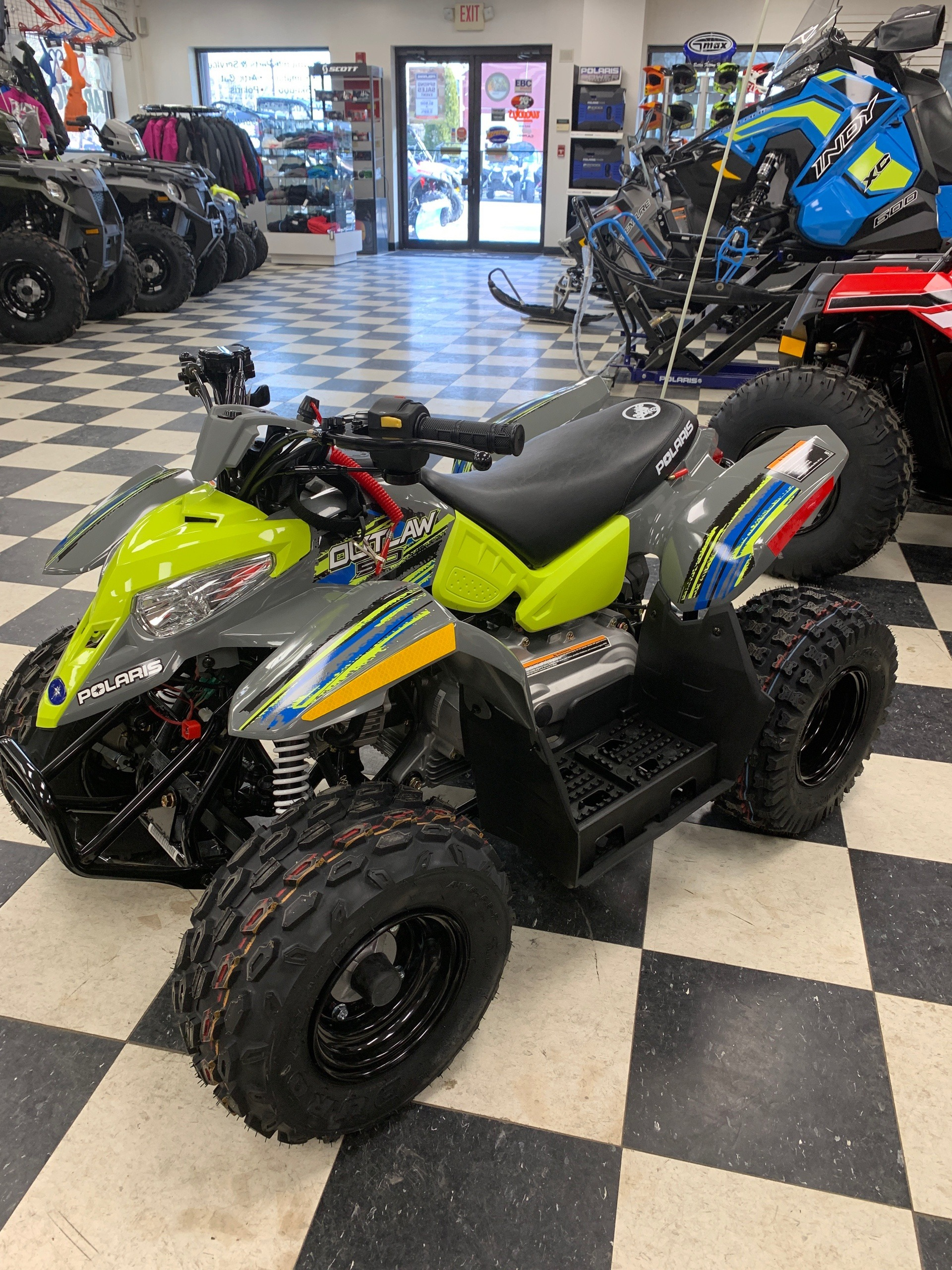 2019 Polaris Outlaw 50 in Milford, New Hampshire - Photo 3