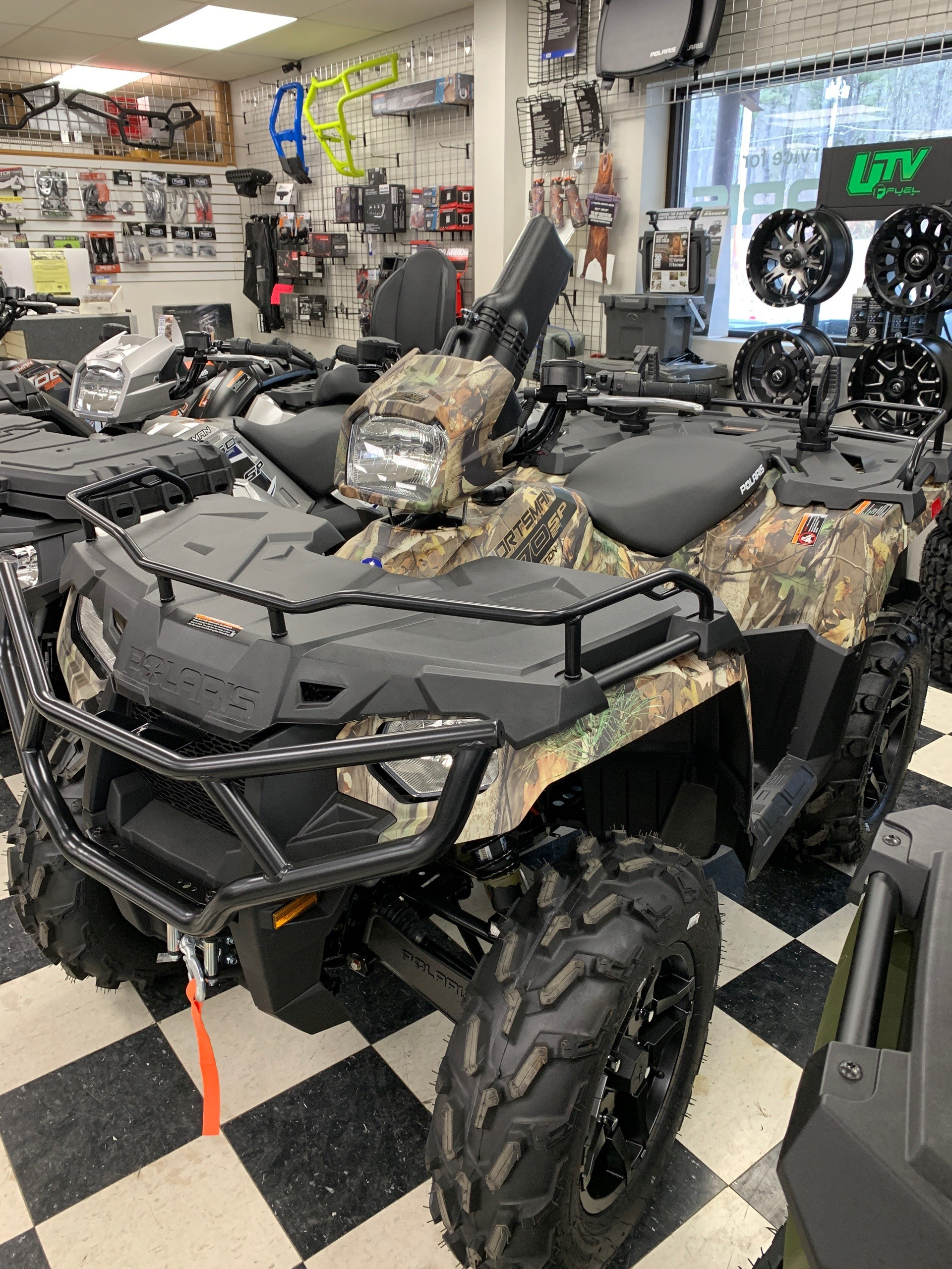 2019 Polaris Sportsman 570 SP Hunter Edition in Milford, New Hampshire