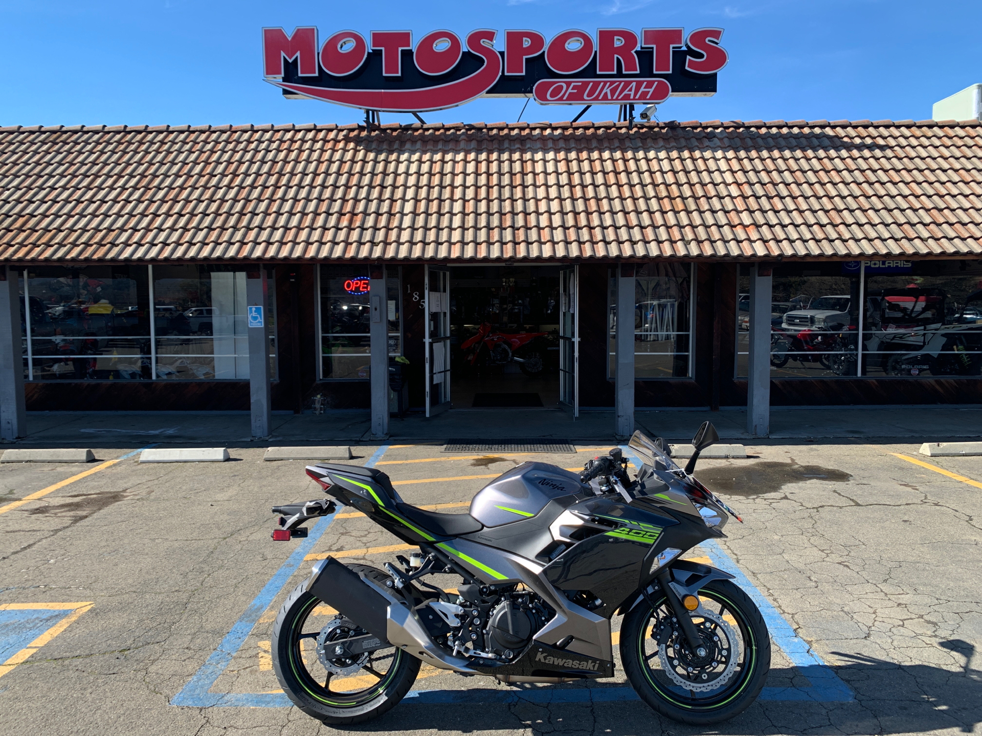 2021 Kawasaki Ninja 400 ABS in Ukiah, California