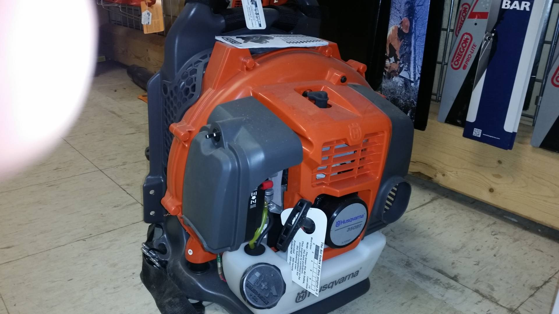 Husqvarna Power Equipment 350BT in Bigfork, Minnesota - Photo 1