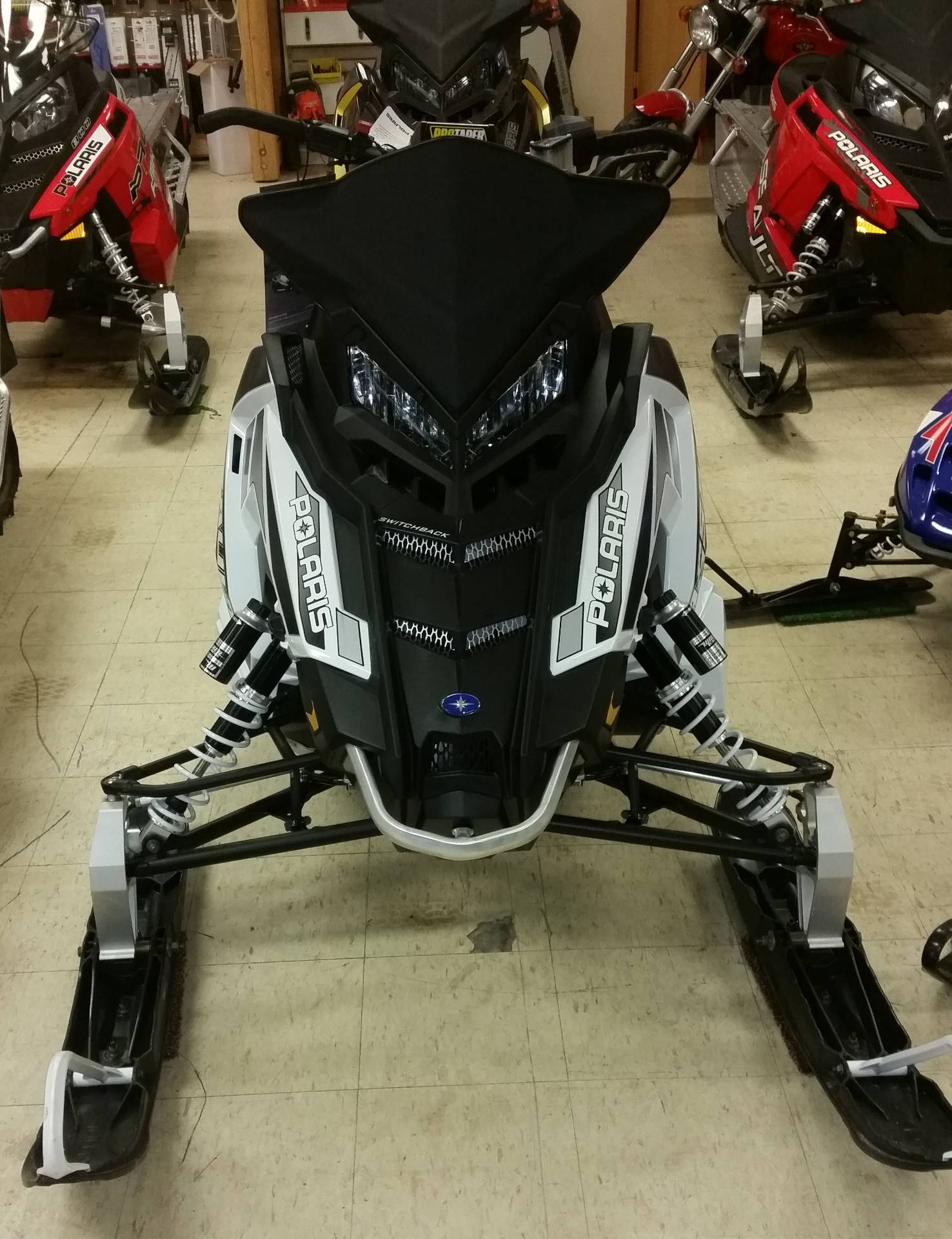 2018 Polaris 600 Switchback Assault 144 ES in Bigfork, Minnesota