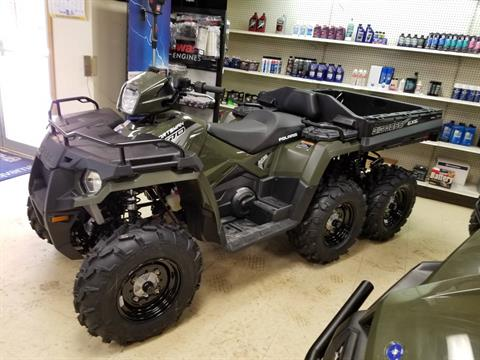 2019 Polaris Sportsman 6x6 570 in Bigfork, Minnesota