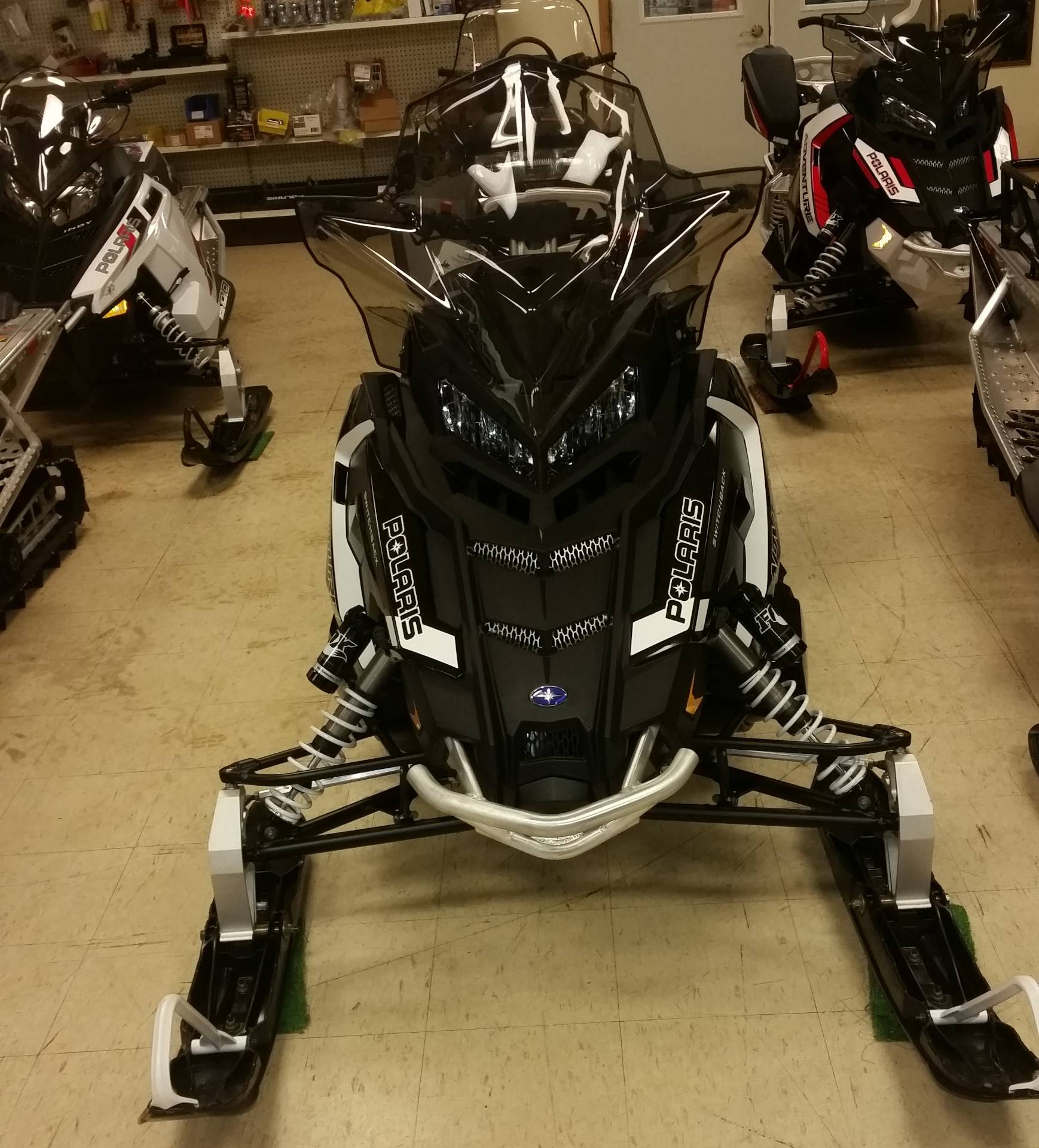 2018 Polaris 800 Switchback Adventure 137 ES in Bigfork, Minnesota - Photo 1