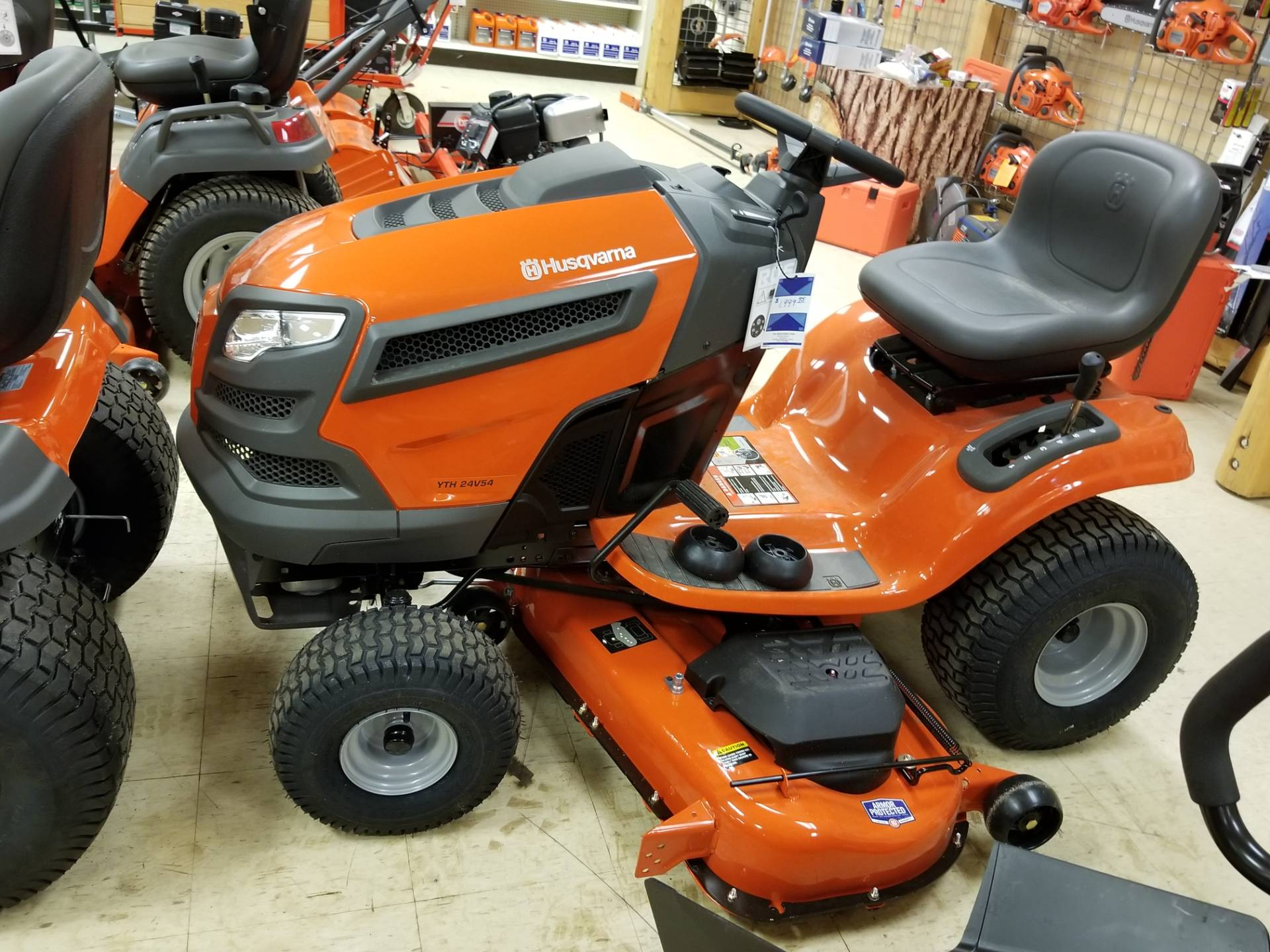 2018 Husqvarna Power Equipment YTH24V54 Lawn Tractor Briggs & Stratton in Bigfork, Minnesota - Photo 1